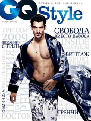 Журнал GQ Style как энциклопедия мужской моды и... TREND (геометрические...