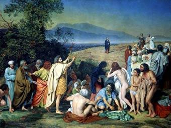 Питерскую газету будут судить за Христа с лицом Миронова
